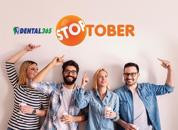 STOPTOBER 2021 Dental365 Steunt Stoppen met Roken Start op 01 Oktober 2021 - ws